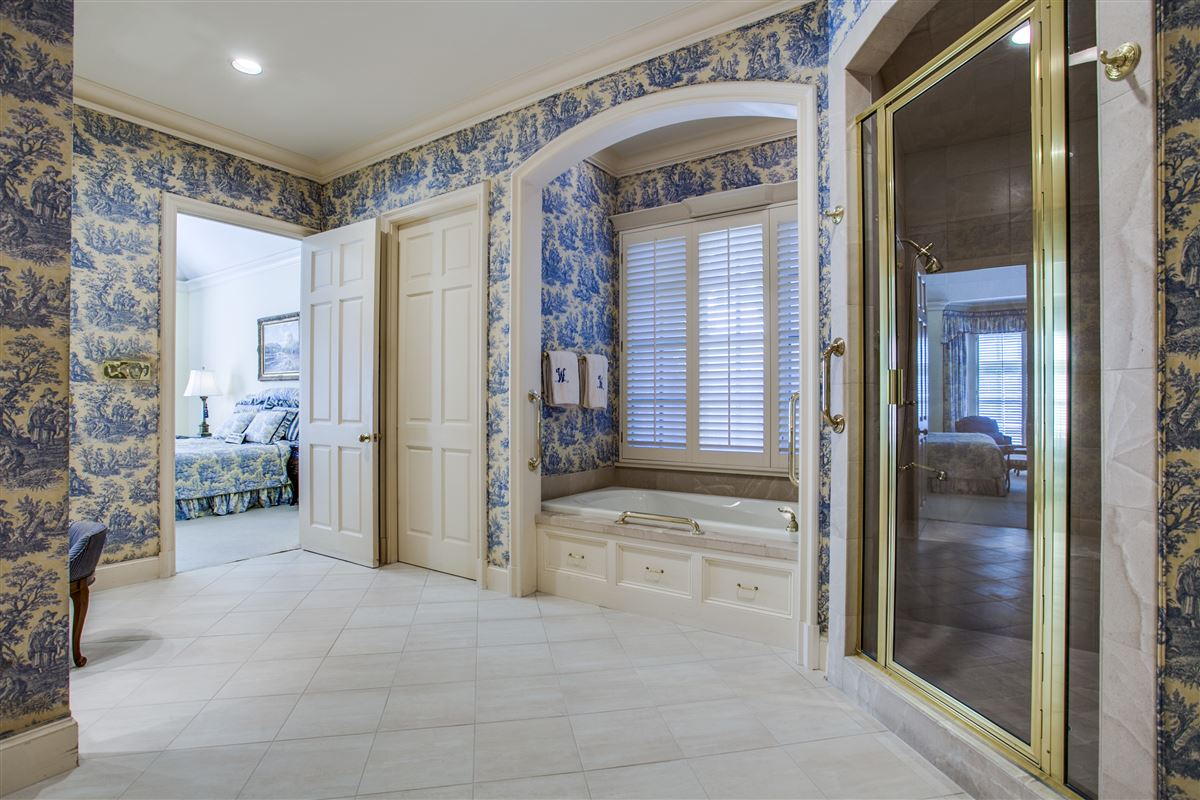 Luxury properties custom home with a noteworthy provenance