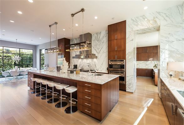 Luxury real estate architectural contemporary stunner