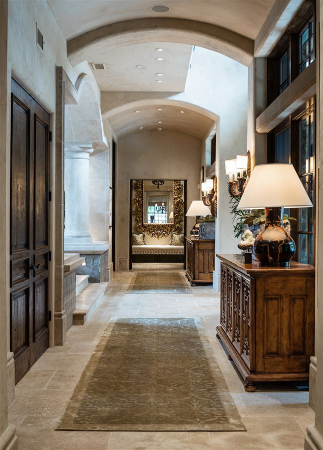 exquisite home in exclusive gated Los Arboles Community luxury homes