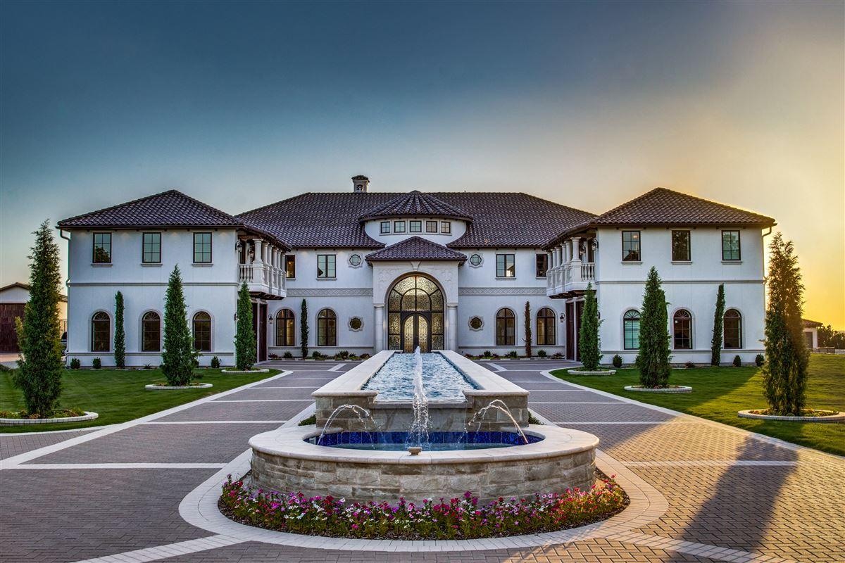 Luxury homes an elegantly intimate Mediterranean masterpiece