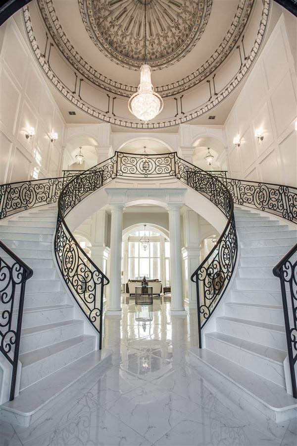 an elegantly intimate Mediterranean masterpiece luxury real estate