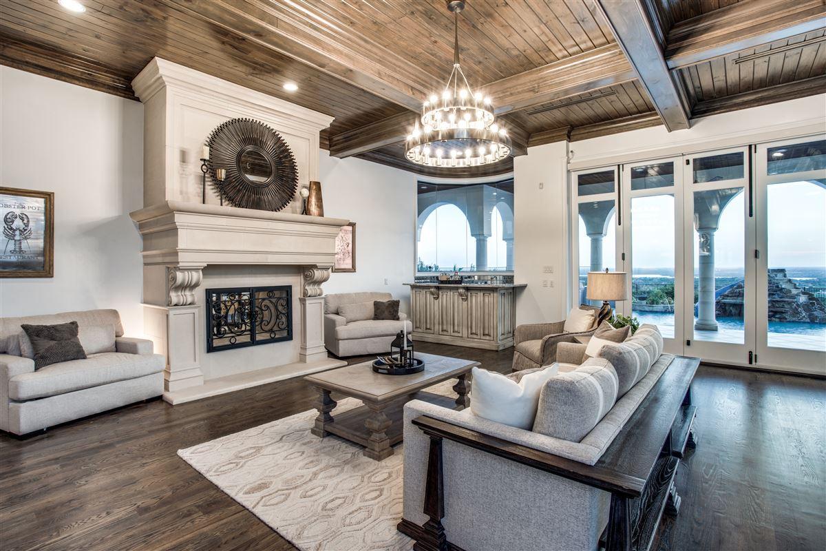 an elegantly intimate Mediterranean masterpiece luxury homes