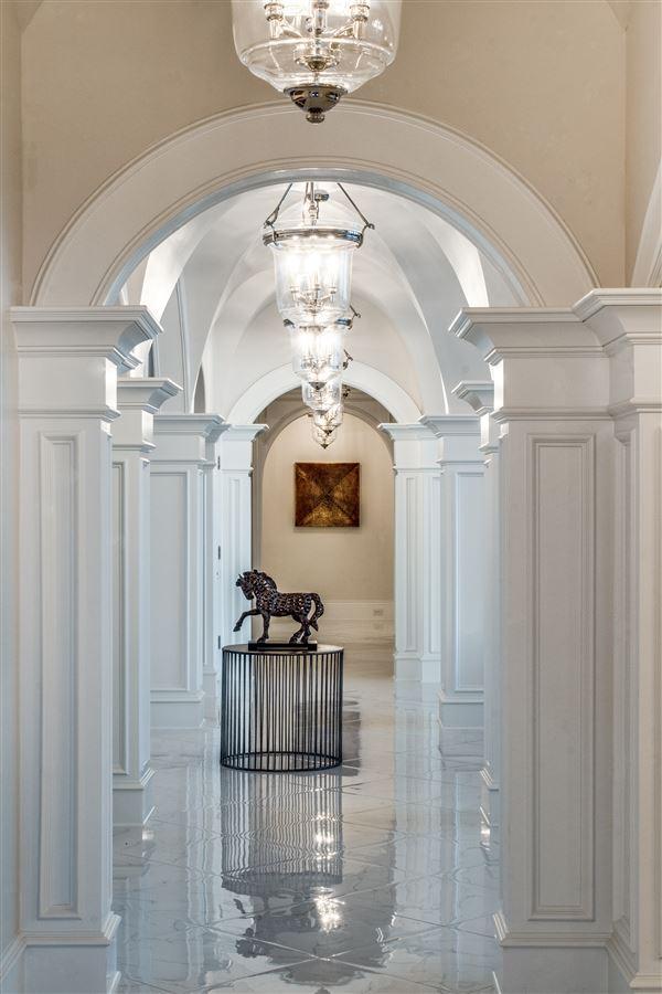 Luxury real estate an elegantly intimate Mediterranean masterpiece