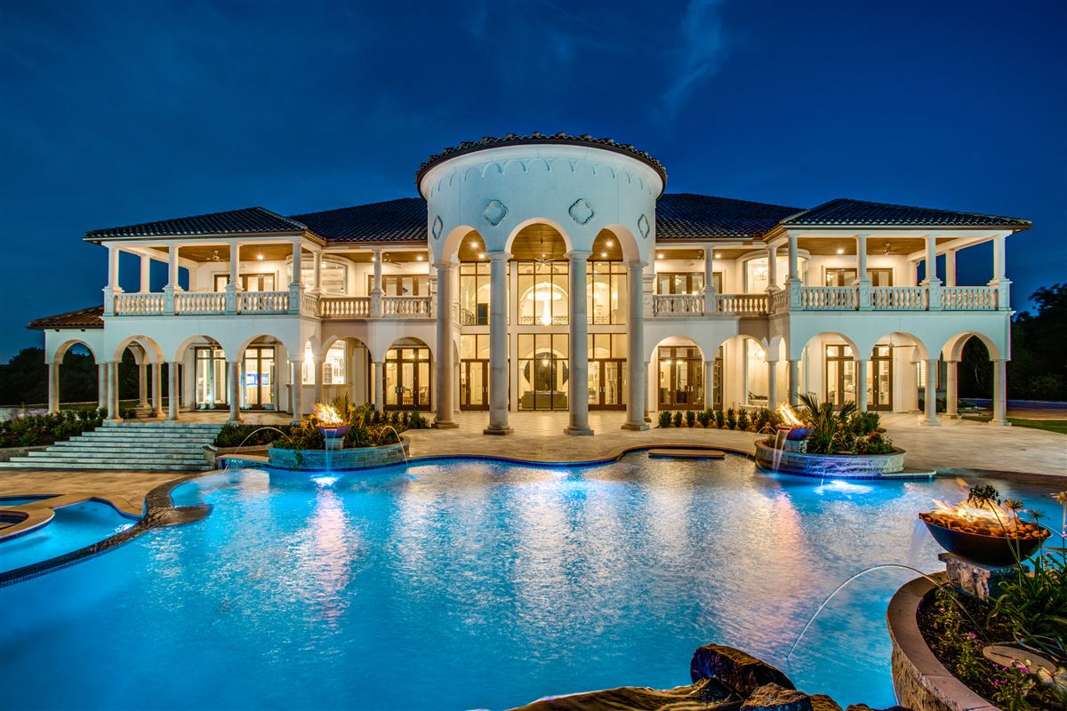 an elegantly intimate Mediterranean masterpiece mansions