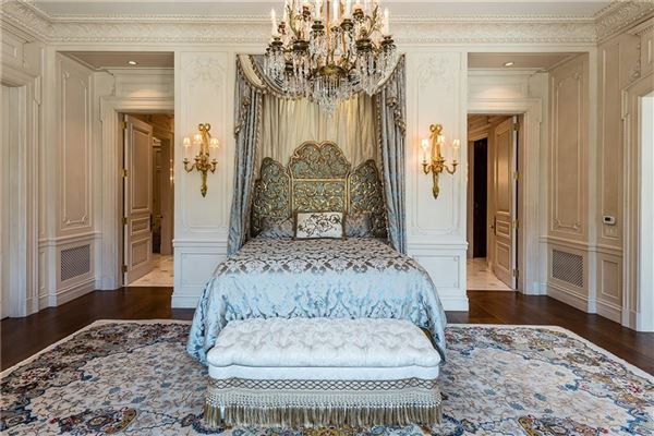 one-of-a-kind French Renaissance-style masterpiece luxury real estate