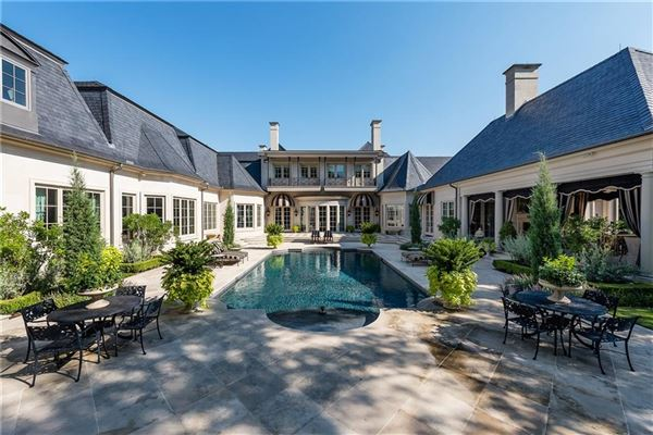 one-of-a-kind French Renaissance-style masterpiece luxury homes