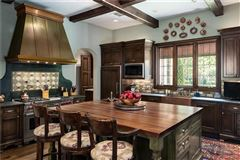 Luxury homes in exceptionally detailed home in sunnybrook estates