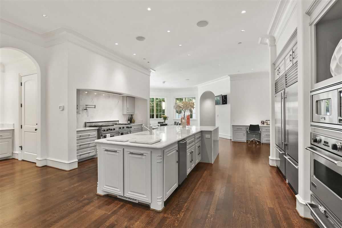 Luxury real estate custom estate in coveted Bluffview