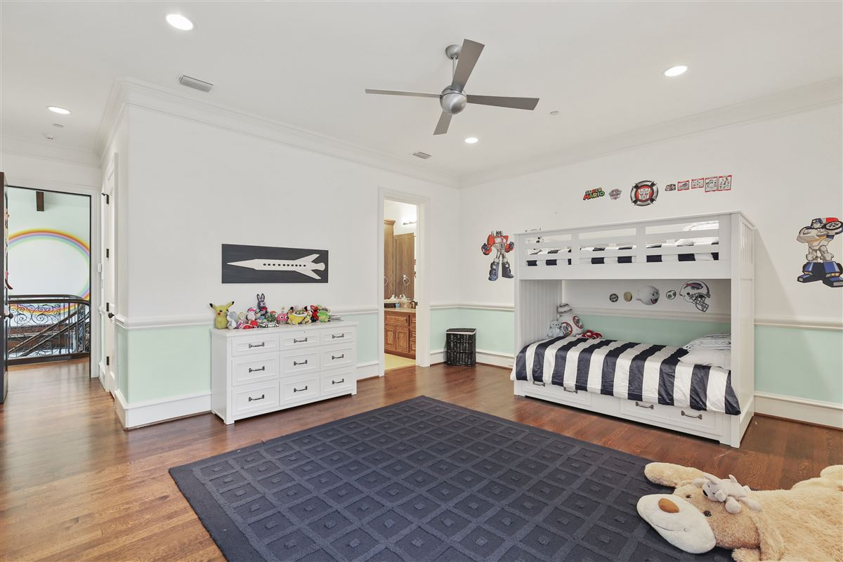custom estate in coveted Bluffview luxury properties