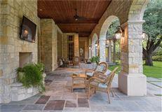 Luxury homes Stately Preston Hollow home