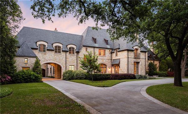 Luxury real estate Stately Preston Hollow home