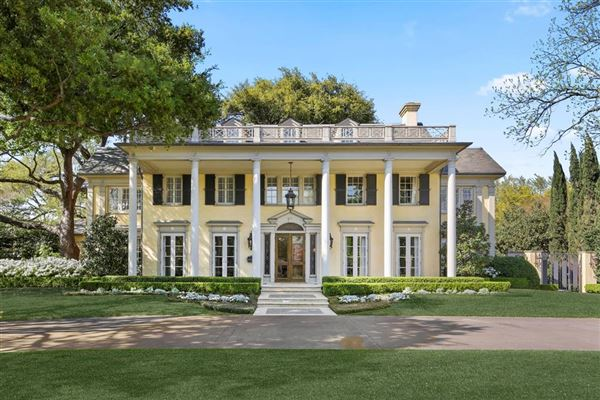 Neoclassical Estate on prestigious Beverly Drive mansions