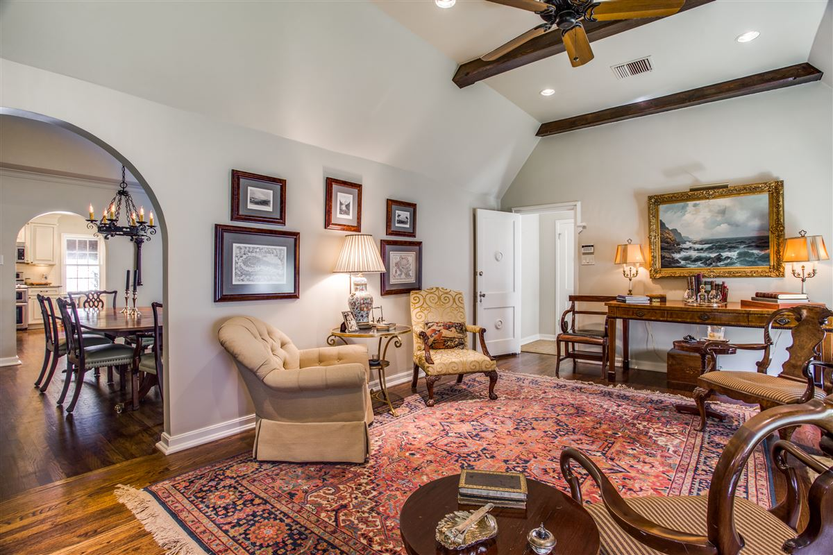Updated Classic Park Cities luxury homes