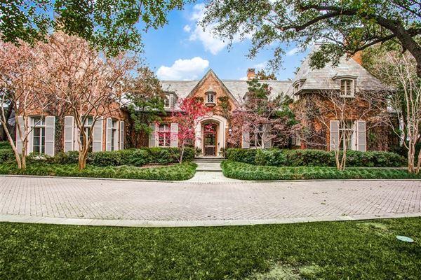 Luxury properties exquisite home in coveted Volk Estates