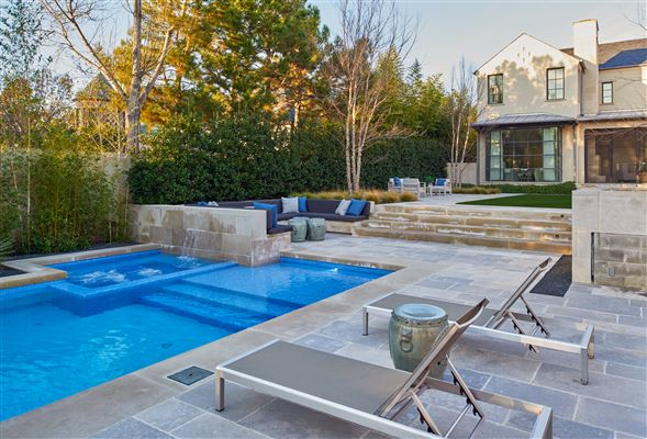 Luxury real estate an exquisite Highland Park custom home