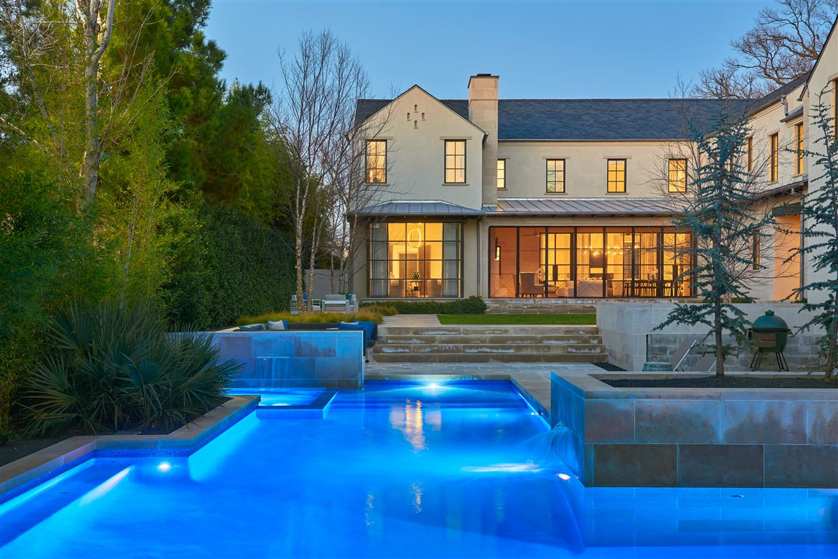an exquisite Highland Park custom home luxury real estate