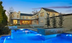 an exquisite Highland Park custom home mansions