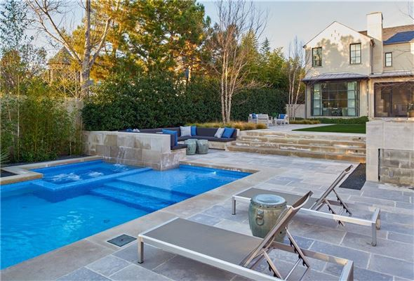 Luxury homes an exquisite Highland Park custom home