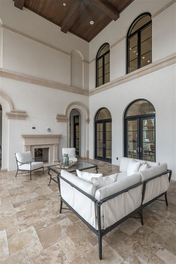 Luxury homes incredible new Italian Mediterranean estate