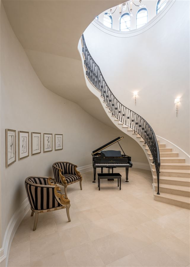 incredible new Italian Mediterranean estate luxury properties