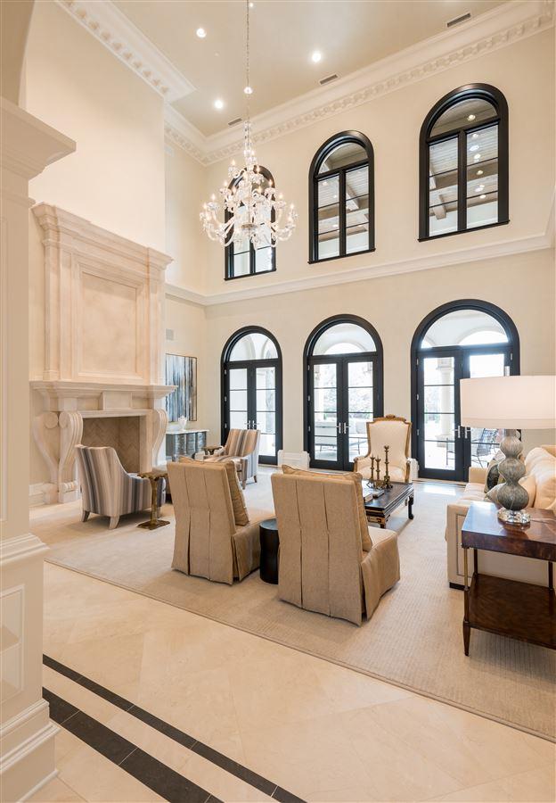 incredible new Italian Mediterranean estate luxury real estate