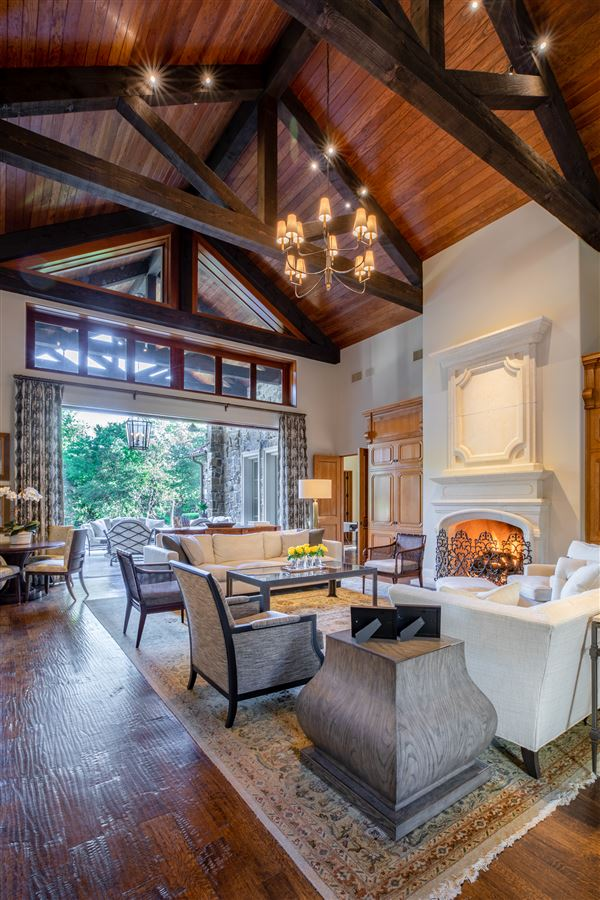 gated and updated dallas retreat luxury real estate