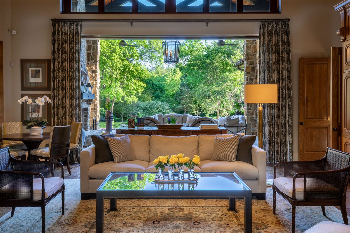 Luxury properties gated and updated dallas retreat