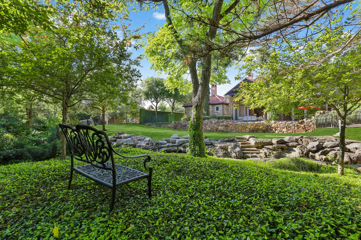 Mansions gated and updated dallas retreat