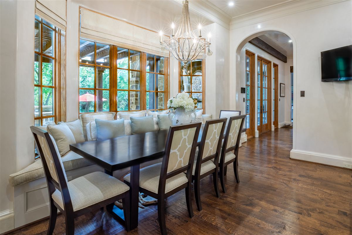 Luxury real estate gated and updated dallas retreat
