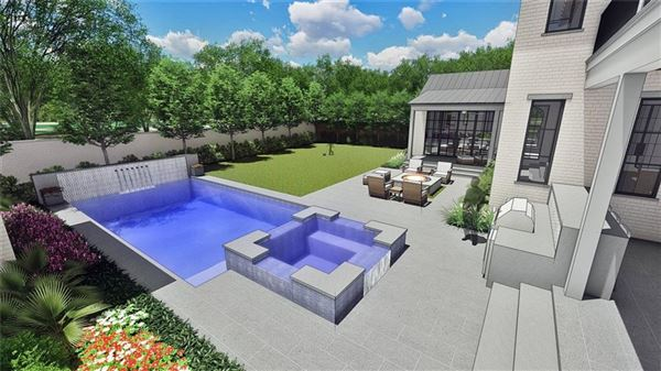 incredible new home on coveted corner lot luxury real estate