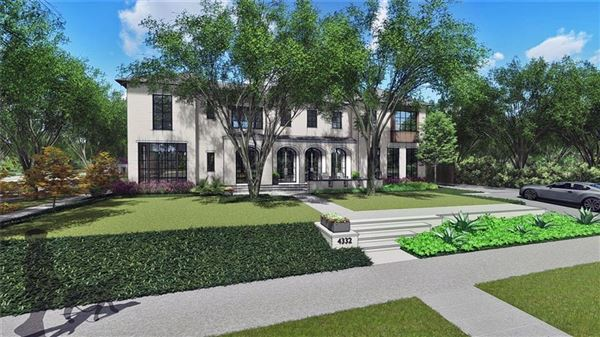 Mansions incredible new home on coveted corner lot