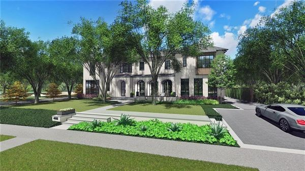 incredible new home on coveted corner lot mansions