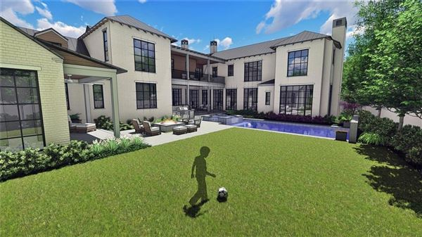 Mansions in incredible new home on coveted corner lot