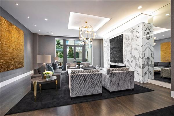 stunning contemporary townhome mansions