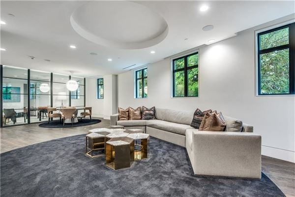 Luxury homes stunning contemporary townhome