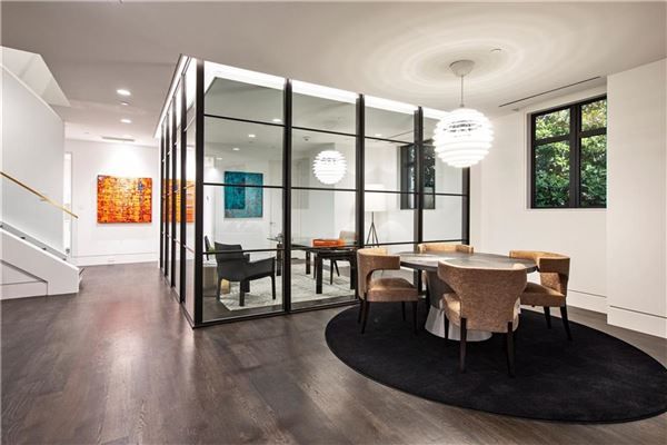 stunning contemporary townhome luxury homes