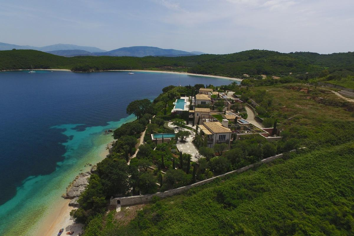 exclusive north east coast of Corfu mansions