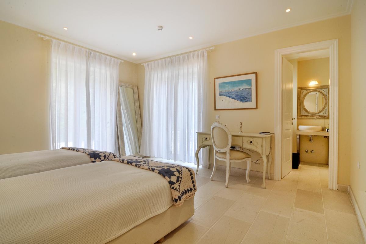 exclusive north east coast of Corfu luxury homes