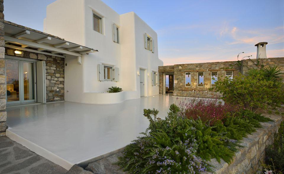 Two-Floor Villa for rent in Mykonos luxury real estate