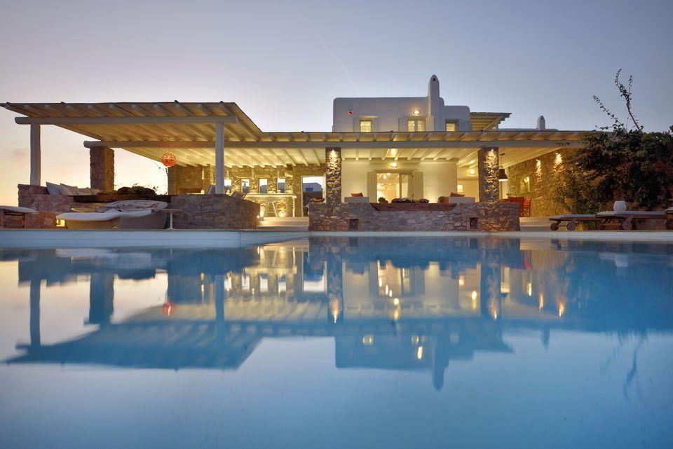 TWO-FLOOR VILLA FOR RENT IN MYKONOS Greece Luxury Homes Mansions For Sale Luxury Portfolio