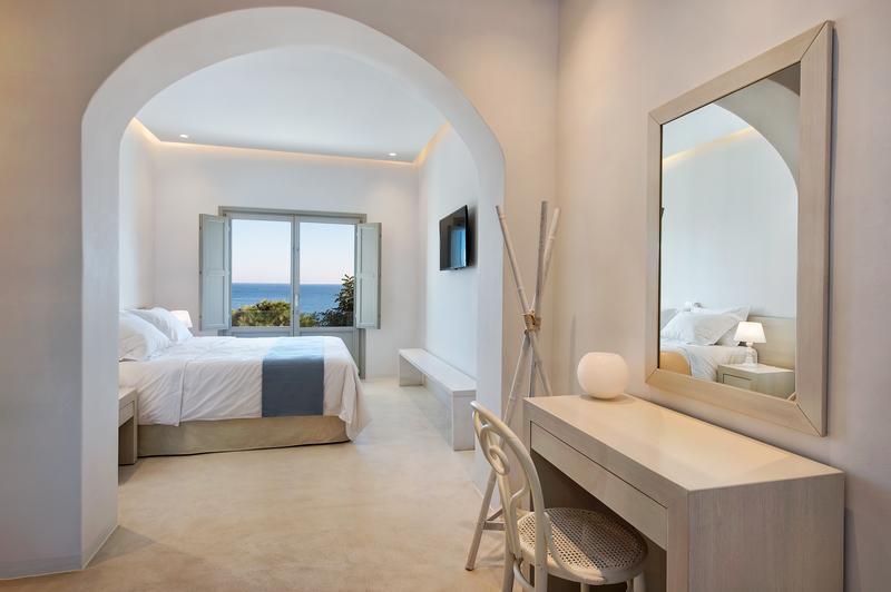 Villa with View in Santorini Island luxury homes