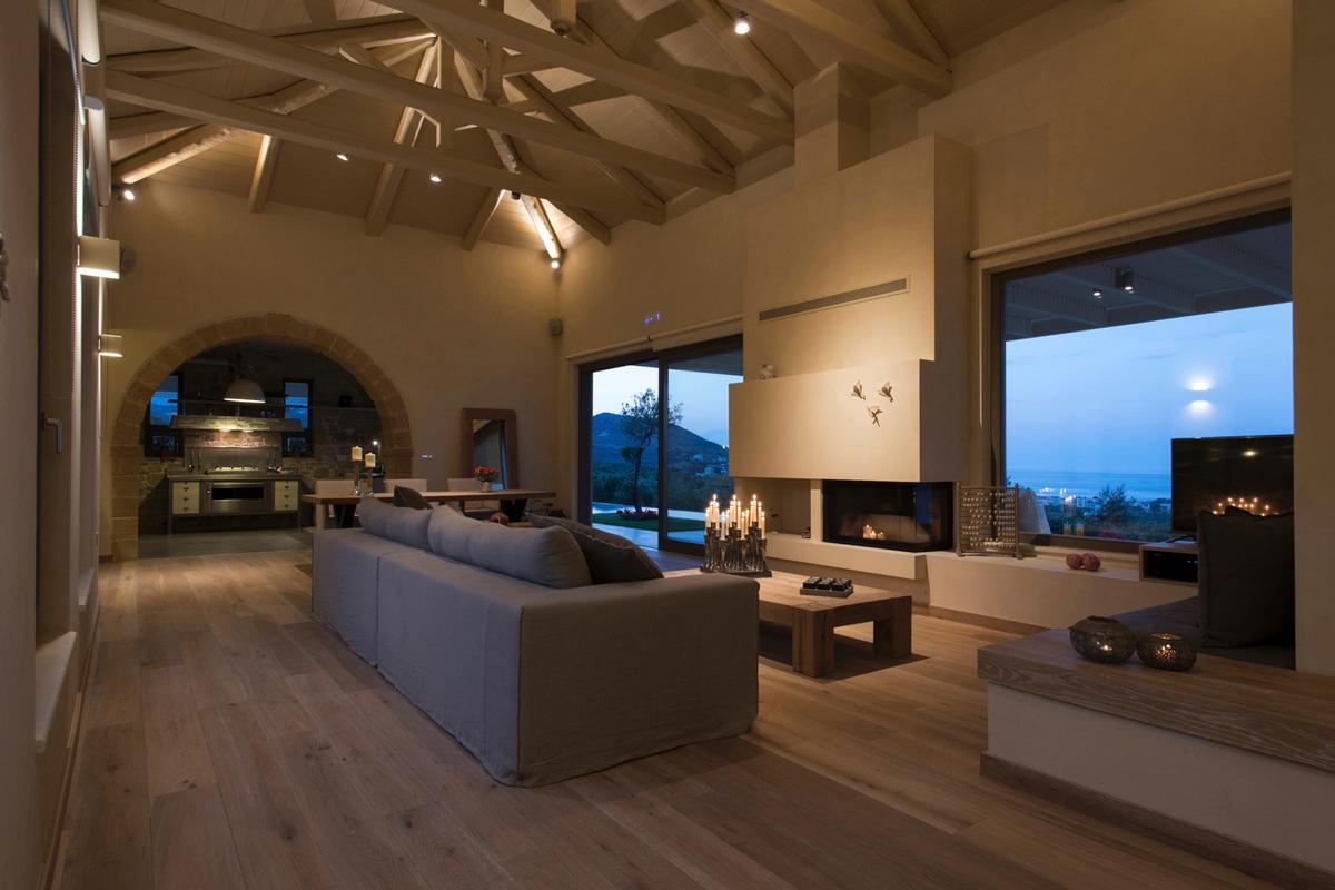 Luxury homes rental villa with View in Crete