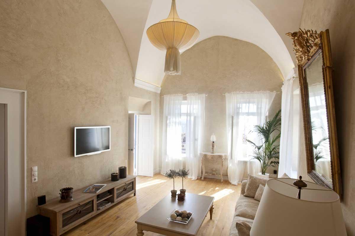 Luxury homes luxury mansion in Santorini