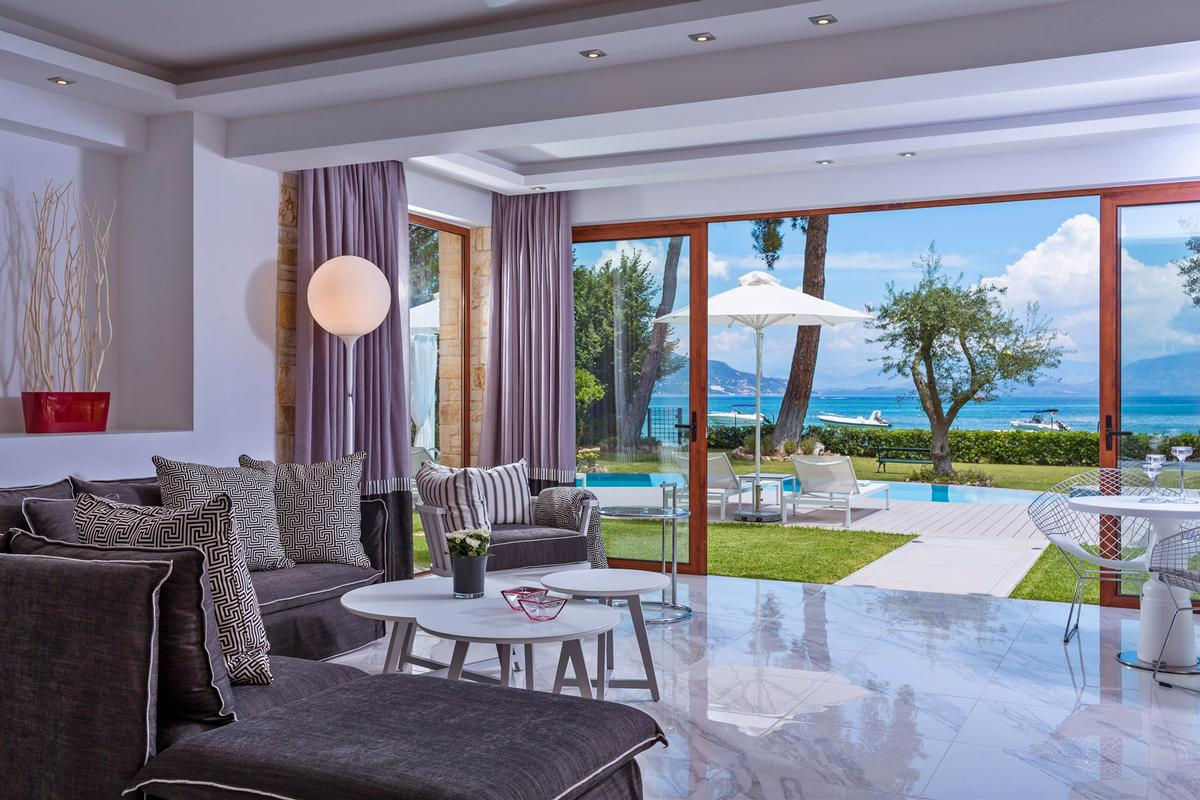 Luxury homes Luxury Villa with View in Corfu