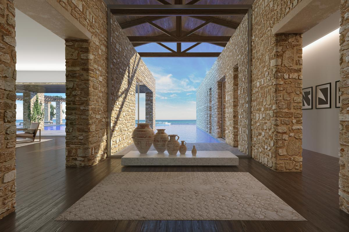 Mansions in BEACHFRONT VILLA B - NAVARINO RESIDENCES