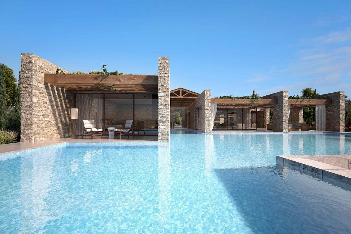 BEACHFRONT VILLA B - NAVARINO RESIDENCES mansions