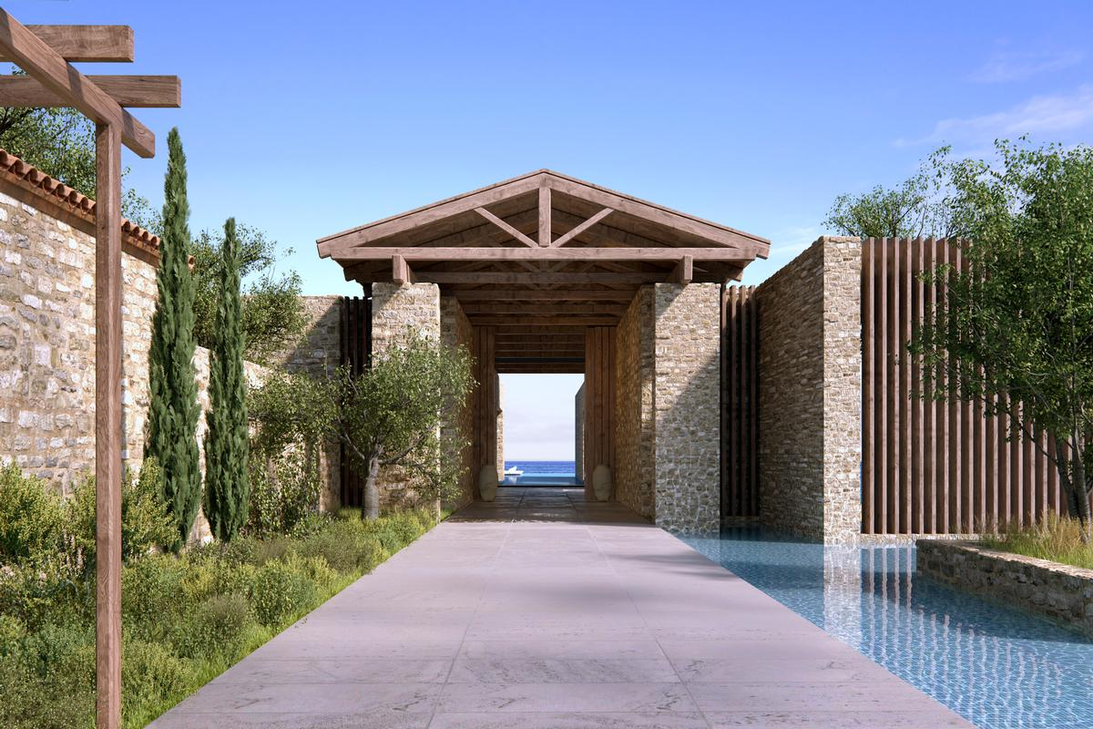 Luxury homes in BEACHFRONT VILLA B - NAVARINO RESIDENCES