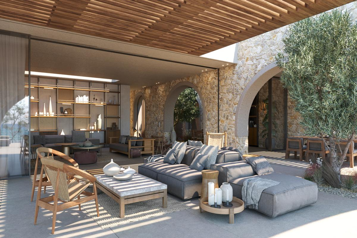 Luxury homes BEACHFRONT VILLA C - NAVARINO RESIDENCES