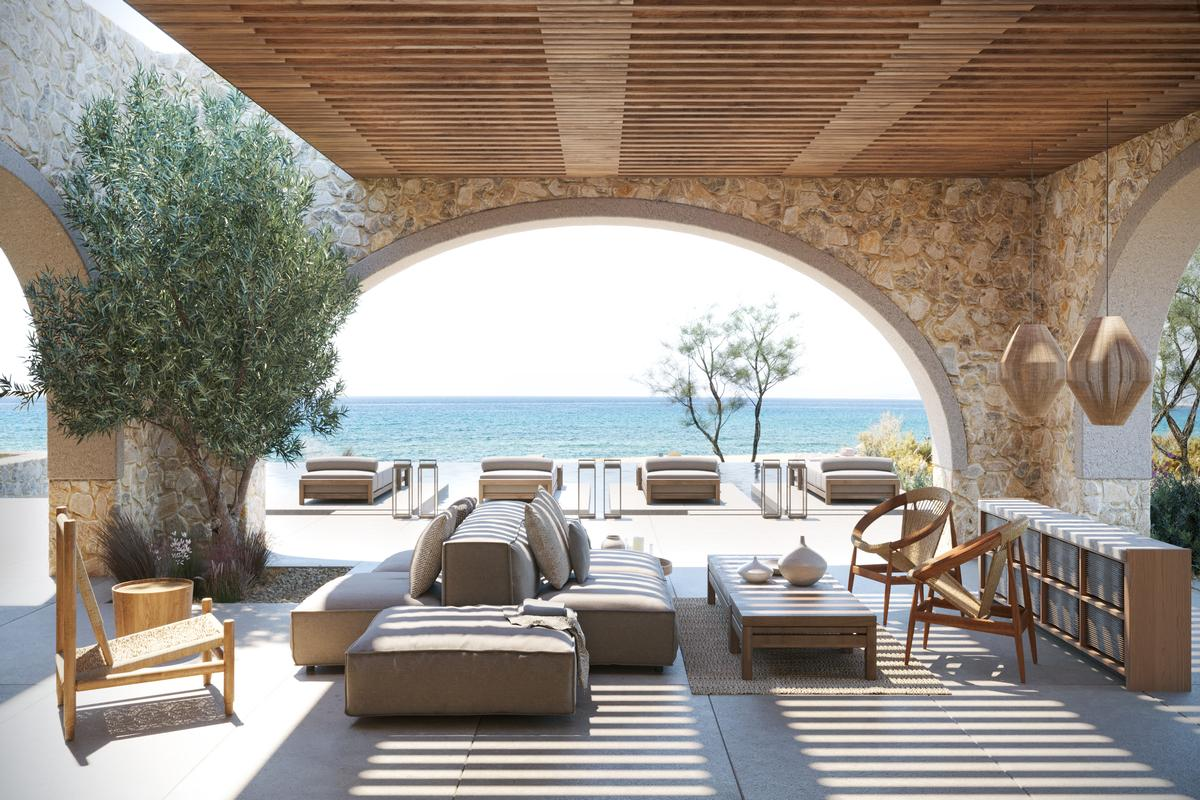 BEACHFRONT VILLA C - NAVARINO RESIDENCES luxury homes