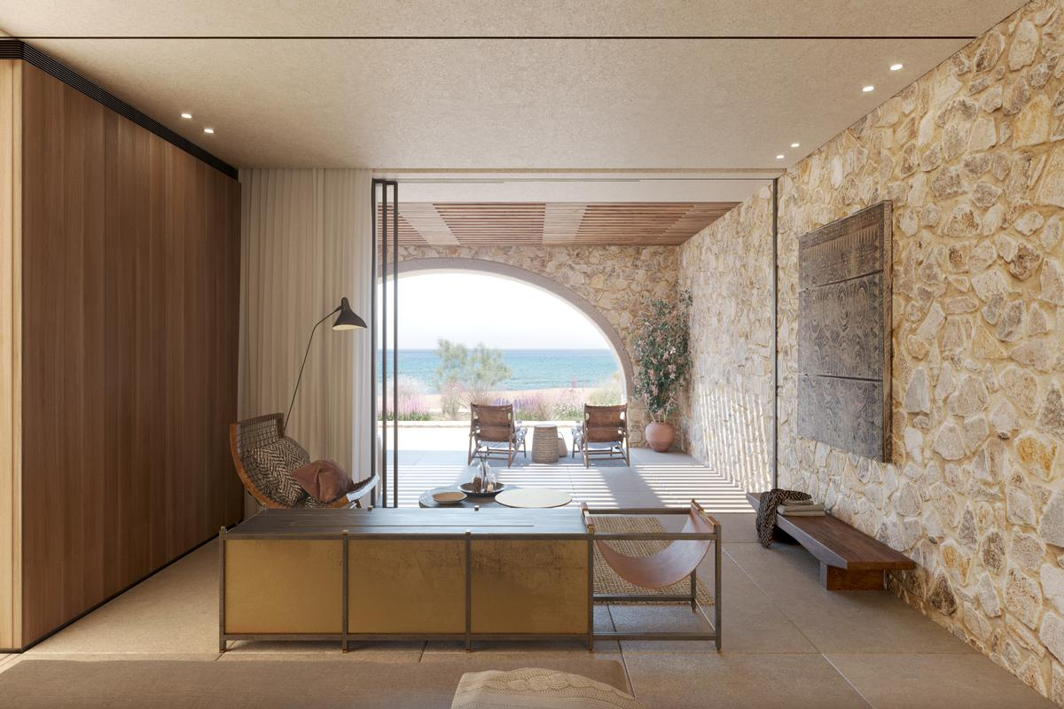 Luxury real estate BEACHFRONT VILLA C - NAVARINO RESIDENCES